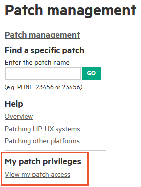 Validating the operating system and patch level in hp-ux